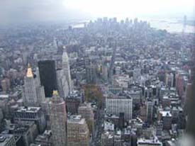 (Vy fr�n Empire State Building nov 2004)